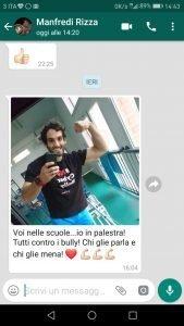 Contro il bullismo e cyberbullismo scende in campo il campione Olimpico, Manfredi Rizza