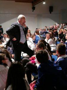 Secondo giorno nella scuola di Caivano (Napoli) contro il bullismo e il cyberbullismo
