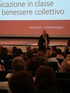 Gino Fanelli presidente di Helpis onlus corso di comunicazione per insegnanti