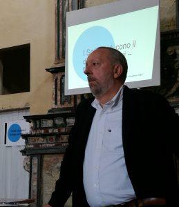 Gino Fanelli presidente Helpis a Lomello incontro con i genitori