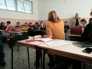 corso di formazione docenti all'istituto Cossa di Pavia